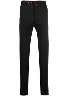 Kiton slim-fit wool trousers