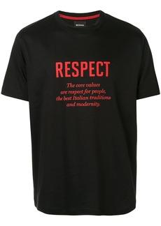 Kiton slogan print T-shirt
