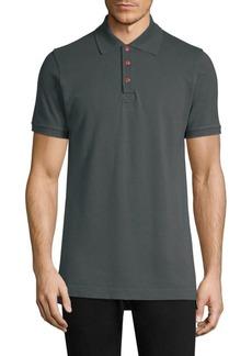 Kiton Snap Button Polo Shirt