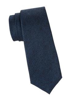Kiton Solid Silk Tie