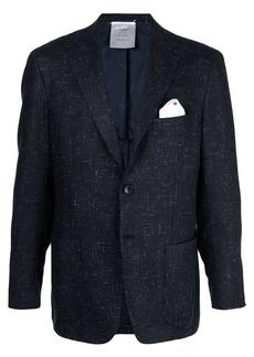 Kiton speckled blazer