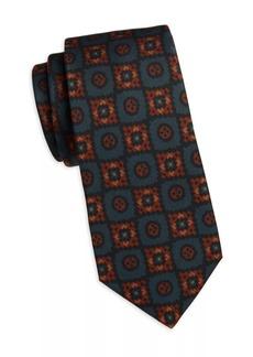 Kiton Square Silk Tie