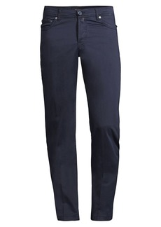 Kiton Straight-Fit Five-Pocket Pants