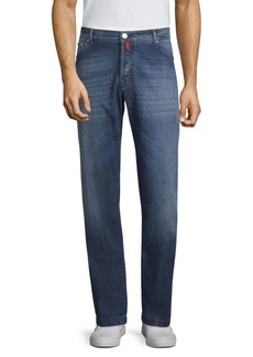 Kiton Stretch Cotton Straight Jeans
