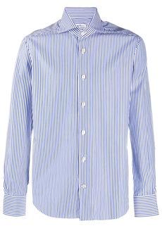 Kiton striped long sleeve shirt