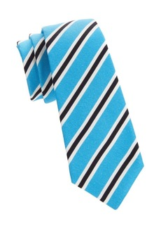 Kiton Striped Silk Blend Tie