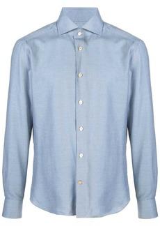 Kiton tailored slim-fit shirt