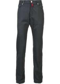 Kiton tapered trousers