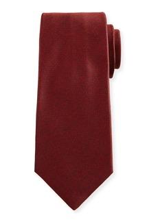 Kiton Textured Solid Silk Tie