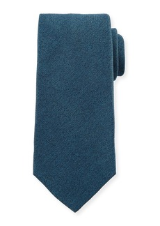 Kiton Textured Solid Silk Tie