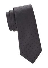 Kiton Tonal Dotted Silk Tie