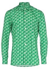 Kiton turtle print shirt
