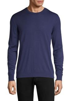 Kiton Wool Crew Sweater