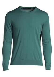 Kiton Wool Crewneck Sweater