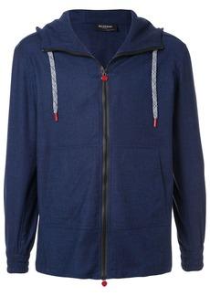 Kiton zip-up hoodie