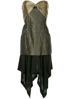 KITX bustier asymmetric dress