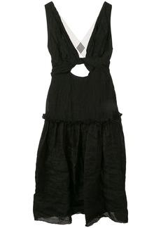 KITX cut-out midi dress