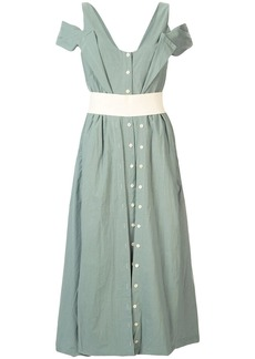 KITX cut-out sleeve dress