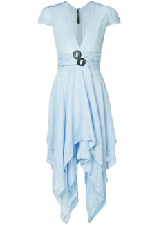 KITX draped midi dress