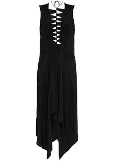 KITX eco spine silk dress