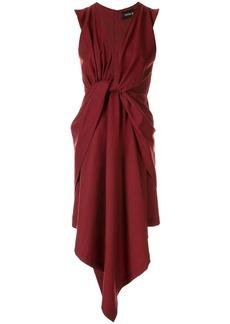 KITX Ember twist-detailed dress