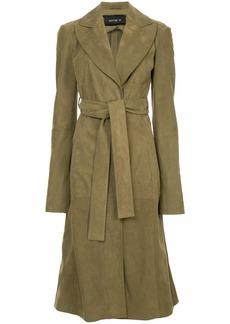 Kitx belted midi coat - Green