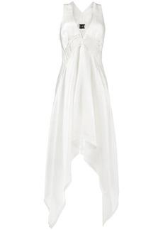 Kitx puzzle asymmetric midi-dress - White