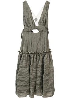 KITX Mineral cut-out dress