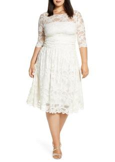 Plus Size Women's Kiyonna Aurora Lace Dress