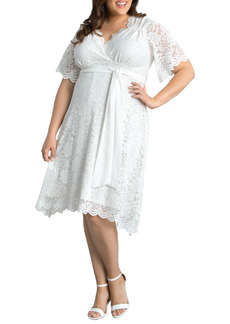 Plus Size Women's Kiyonna Graced With Love Faux Wrap Dress