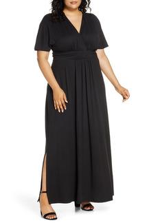 Plus Size Women's Kiyonna Vienna Maxi Dress