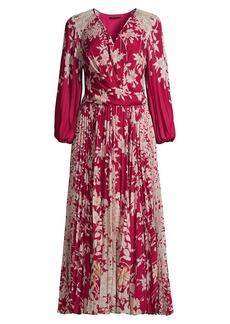 Kobi Halperin Ariella Floral Midi Dress