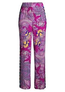 Kobi Halperin Arlene Floral Paisley Print Pants
