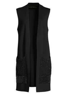 Kobi Halperin Ashton Embellished Knit Vest