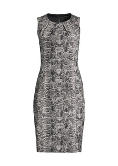 Kobi Halperin Beatrice Python-Print Dress