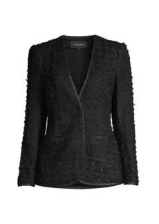 Kobi Halperin Blair Knit Tweed Jacket