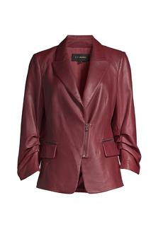 Kobi Halperin Caden Leather Blazer