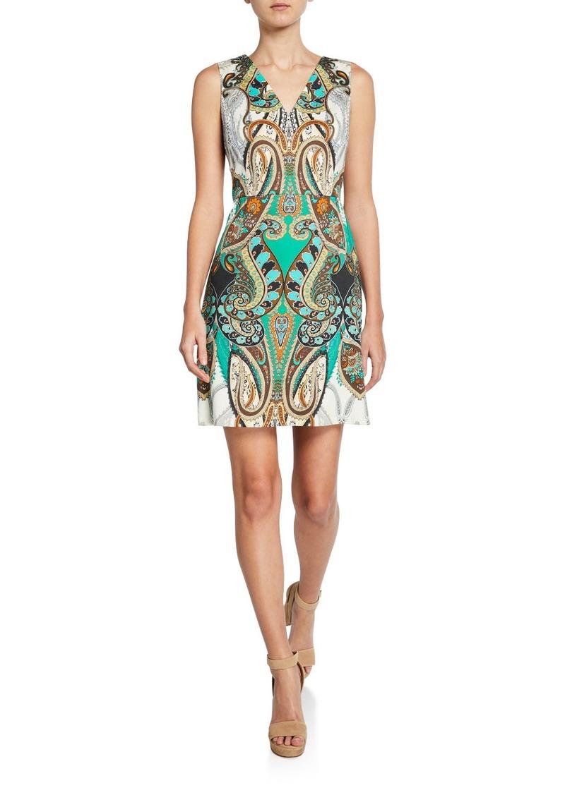 Kobi Halperin Dara Printed Sleeveless Mini Dress