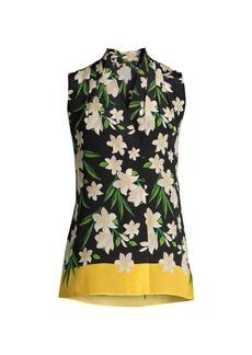 Kobi Halperin Deena Floral Silk Top