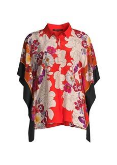 Kobi Halperin Isadora Printed Silk Shirt