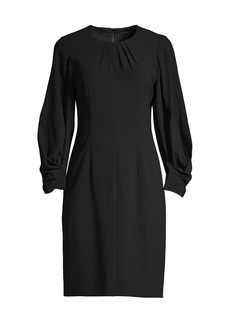 Kobi Halperin Jemima Ruched-Sleeve Dress