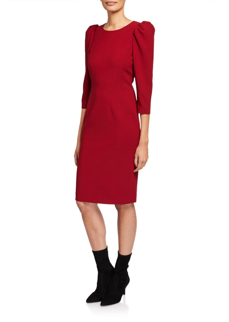 Kobi Halperin Jody Puff-Sleeve Sheath Dress