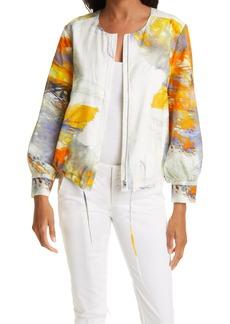 KOBI HALPERIN Miley Cotton & Silk Jacket