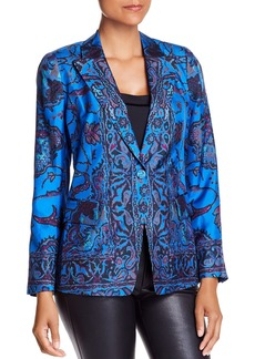 Kobi Halperin Petra Printed Silk Blazer