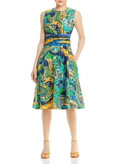 Kobi Halperin Sophie Printed A Line Dress