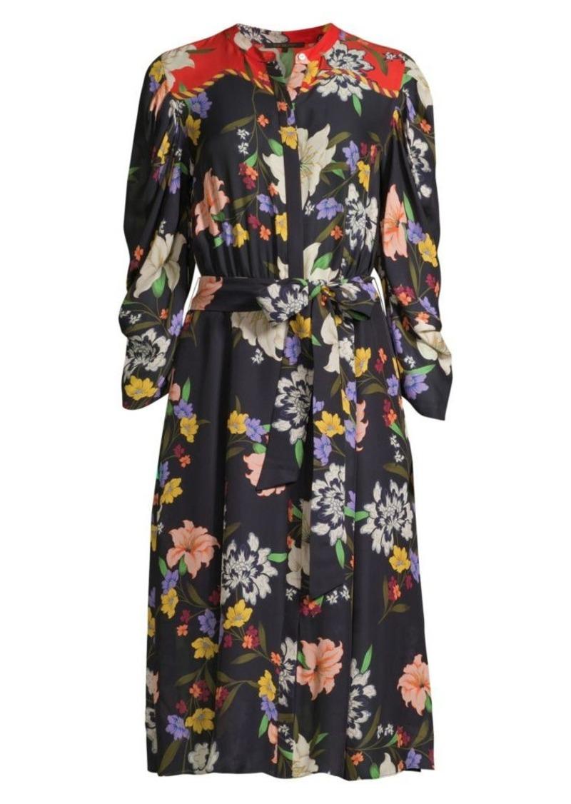 Kobi Halperin Leila Floral Shirtdress