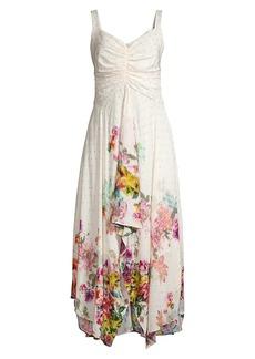 Kobi Halperin Luna Floral Handkerchief Dress