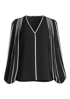 Kobi Halperin Marni Contrast Silk Blouse
