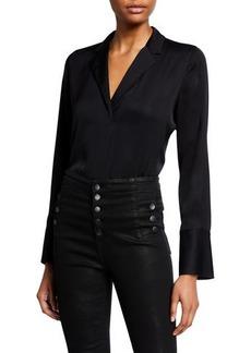 Kobi Halperin Rebekah Long-Sleeve Silk Blouse