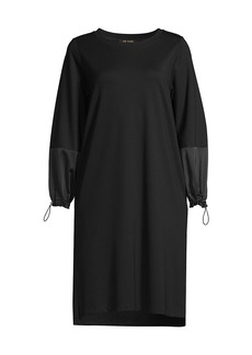 Kobi Halperin Stevie Drawcord Sweatshirt Dress